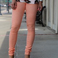 Acid Wash Peach Skinny {Miss Me}
