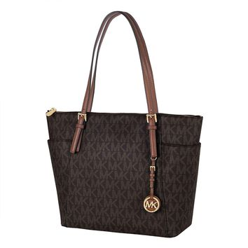 Michael Kors Jet Set Item East West PVC Tote