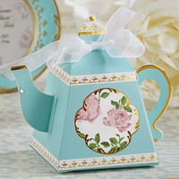 24 Teapot Favor Boxes