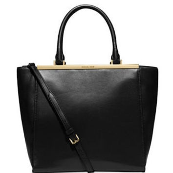 Michael Michael Kors Large Lana Leather Shoulder Tote