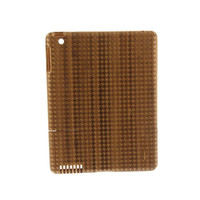 Wurkin Stiffs Wood Houndstooth Etched iPad Case