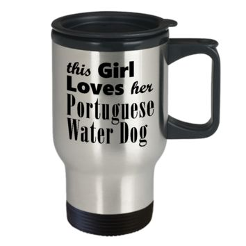 Portuguese Water Dog - Travel Mug