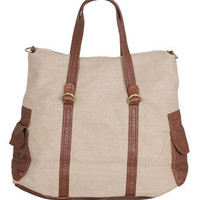Large Canvas Handbag