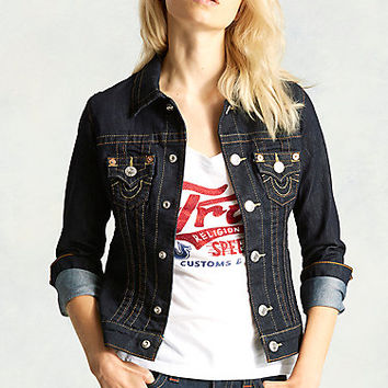 HAND PICKED WOMENS DENIM JACKET