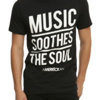 Amerrickan Music Soothes The Soul T-Shirt