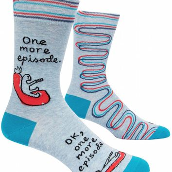 One More Episode Men's Crew Socks