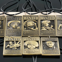 One Piece Military Card Dog Tags