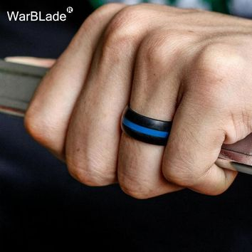 WarBLade 5Pcs/Lot Food Grade FDA Silicone Finger Ring Engagement Hypoallergenic Crossfit Flexible Silicone Rings For Men Women