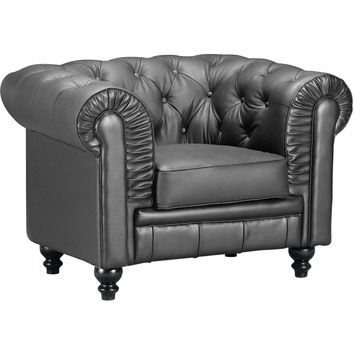Aristocrat Arm Chair Black