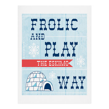 Heather Dutton Frolic And Play Art Print