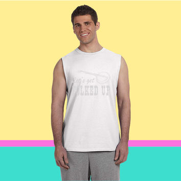 Let's get folked up Sleeveless T-shirt