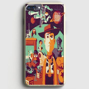 Toys Story Woody Film Art Disney Poster iPhone 7 Plus Case