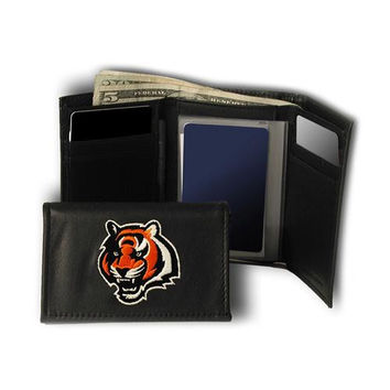 Cincinnati Bengals NFL Embroidered Trifold Wallet