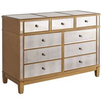 Hayworth Dresser - Gold