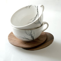 $50.00 tree cups by lovemilodesign on Etsy
