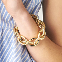 MULTI CHAIN STRETCH BRACELET
