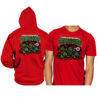 zombie tmnt zombie teenage mutant ninja turtles hoodie and shirt