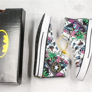 Converse x Batman High Skateboarding shoes 02