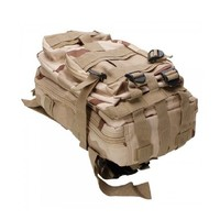 COOLGO 20L Oxford Waterproof Neutral Oxford Cloth Outdoor Backpack Shoulders Bag Sand Color Camouflage,ship from US