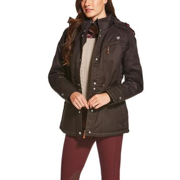 Ariat Ladies Momento H2O Jacket - Ganache