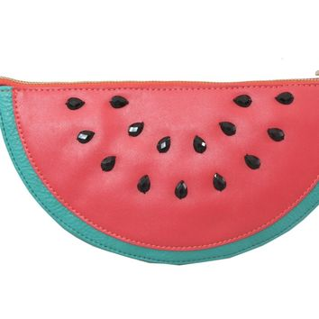 Nila Anthony Juicy Watermelon Shaped Cross Body Bag