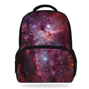 Cool Backpack school 14Inch Cool Custom Printing Backpack For Boys Girls Space Bag For Children Kids AT_52_3