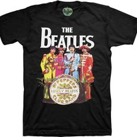 Beatles Sgt. Pepper Grey Shirt Size XL