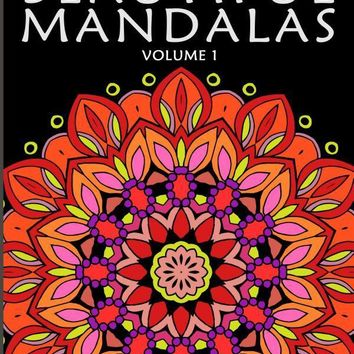 Beautiful Boho Mandalas: A Coloring Book For Adults