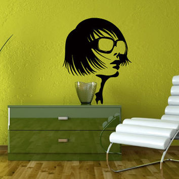 Wall Vinyl Decal Sticker  Stylish Guy Art Design Room Nice Picture Decor Hall Wall Chu207