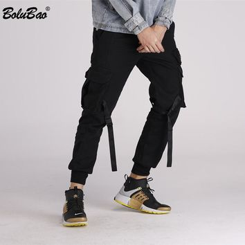 New Ripped Pants For Men Skinny Destroyed Famous Hip Hop Black Men Joggers Pants Casual High Street Pants