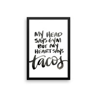 Tacos Please! - 12x18