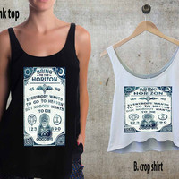 Bring Me The Horizon yes or no For Woman Tank Top , Man Tank Top / Crop Shirt, Sexy Shirt,Cropped Shirt,Crop Tshirt Women,Crop Shirt Women S, M, L, XL, 2XL**