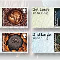 Keep it down: Animals are hibernating on new postage labels