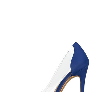 Tia Classic Pump (Royal Blue)