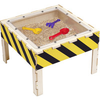 Anatex Preschool Kids Activity Toy Sand Play Wooden Table