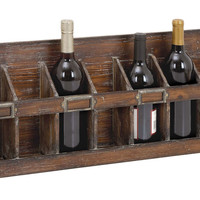 "Wood Wine Rack, 26"", Wine Racks"