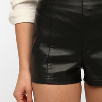 Urban Outfitters - Sparkle & Fade High-Rise Faux Leather Pinup Short