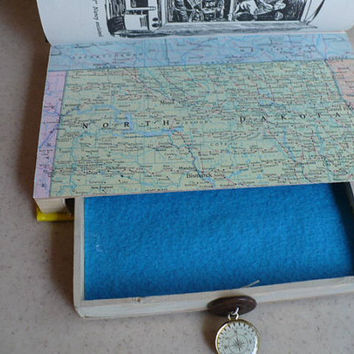 Secret Compartment Box, Hidden Compartment Book, Hollow Book Safe