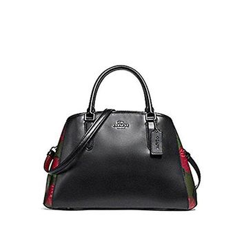 COACH MARGOT CARRYALL WITH CAMO ROSE FLORAL PRINT, F25868
