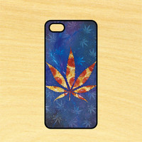Pizza Leaf Space Phone Case iPhone 4 / 4s / 5 / 5s / 5c /6 / 6s /6+ Apple Samsung Galaxy S3 / S4 / S5 / S6