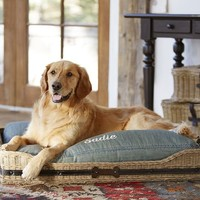 Jacquelyne Dog Bed Basket