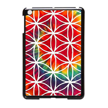 Bring Me To The Horizon  Tie Dye Flower Of Life iPad Mini Case