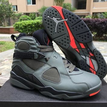 Nike Air Jordan 8 Retro¡°Sequoia¡±AJ8 Cheap Sale JD 8 Discount Men Sports Basketball Sho