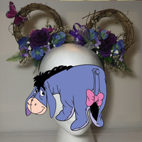 Disney Eeyore Inspired Mickey Ears