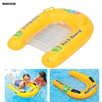 New Baby Safety Swim Float Baby Accessories Pool Inflatable Kick Board Float Swimming Mat Baby Child Water Sports  Pool Raft