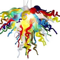 "24"" ColorSelect Chandelier, Multi, Ceiling Chandeliers"