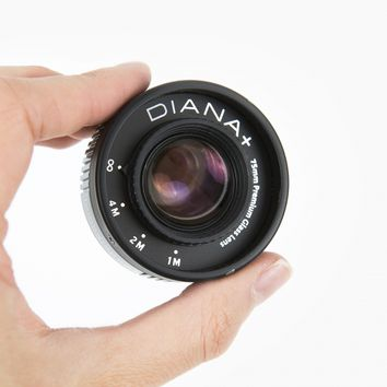 The Glass Diana DSLR Lens