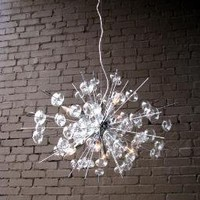 How To: $990 Glass Bubble Chandelier for $70! » Curbly | DIY Design Community « Keywords: lighting, sustainability, how-to