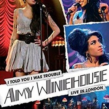 Amy Winehouse - I Told You I Was Trouble: Amy Winehouse Live In London