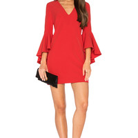 MILLY Nicole Dress in Tomato | REVOLVE